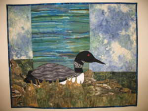 Debra Bentley Nesting Loon