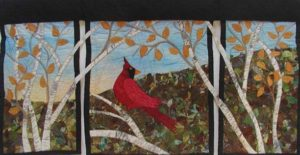 Chris Landis Cardinal in Birches